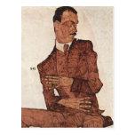 Egon Schiele- Arthur Roessler Post Card