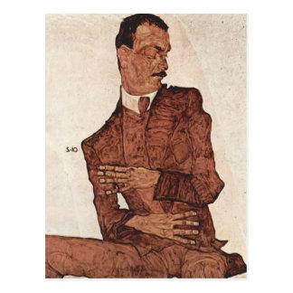 Egon Schiele- Arturo Roessler Postal