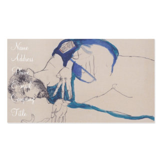 'Egon Schiele' Double-Sided Standard Business Cards (Pack Of 100)