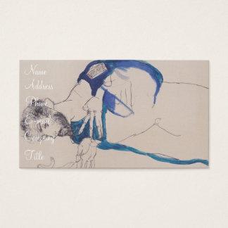 'Egon Schiele' Business Card