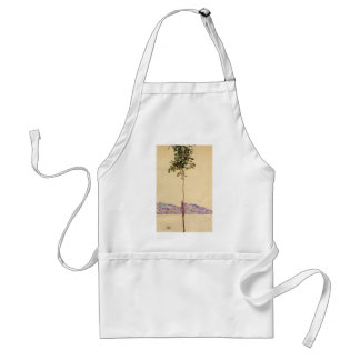 Egon Schiele- Chestnut Tree at Lake Constance Adult Apron