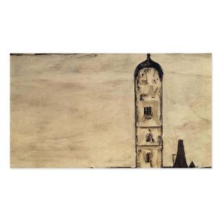 Egon Schiele- Church in Stein on the Danube Business Card Template