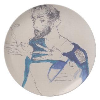 'Egon Schiele' Dinner Plate