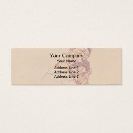 Egon Schiele- Double Self Portrait Mini Business Card