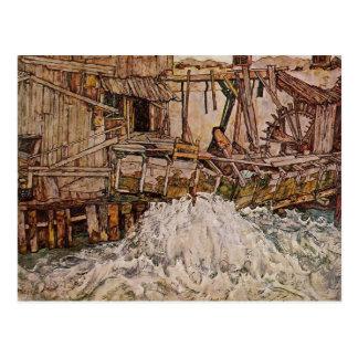 Egon Schiele- el molino Tarjetas Postales