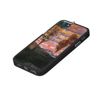 Egon Schiele- Four Trees iPhone 5 Covers