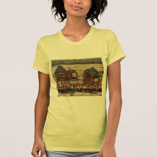 Egon Schiele- Houses with Laundry (Seeburg) Tee Shirts