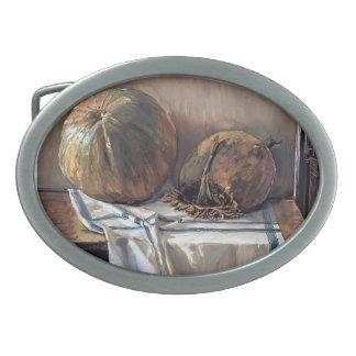 Egon Schiele- Melon Oval Belt Buckle