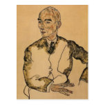 Egon Schiele- Portrait of Dr. Viktor Ritter Bauer Post Cards