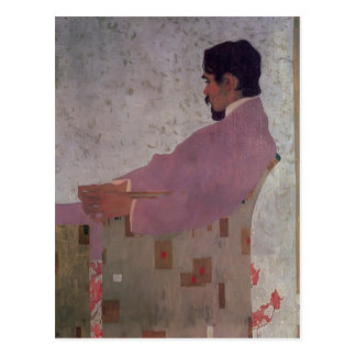 Egon Schiele-Portrait of the Painter Anton Peschka Postcard