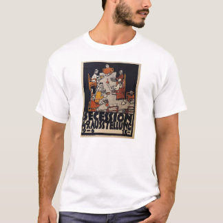 Egon Schiele- Poster for the Vienna Secession T-Shirt