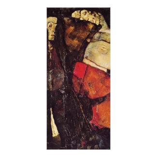 Egon Schiele- Pregnant woman and Death Customized Rack Card