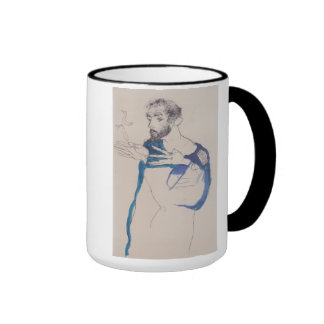 'Egon Schiele' Ringer Mug