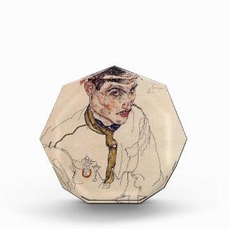 Egon Schiele- Russian Prisoner of War Acrylic Award