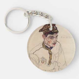 Egon Schiele- Russian Prisoner of War Key Chains