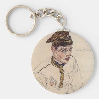 Egon Schiele- Russian Prisoner of War Key Chain