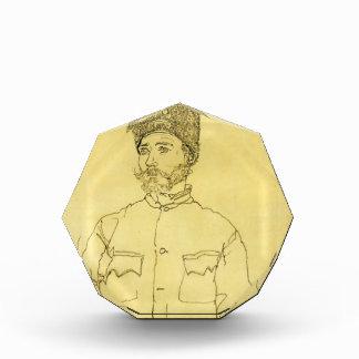 Egon Schiele- Russian Prisoner of War with Fur Hat Award