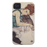 Egon Schiele Seated Woman iPhone case iPhone 4 Covers