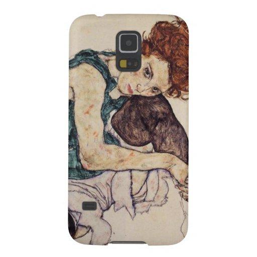 Egon Schiele Seated Woman Samsung Galaxy case Galaxy S5 Cover