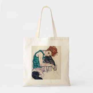 Egon Schiele Seated Woman Tote Bag