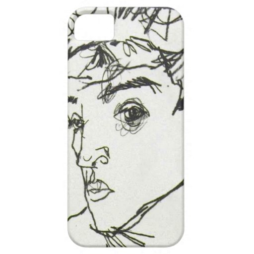 Egon Schiele Self-Portrait iPhone case iPhone 5 Covers