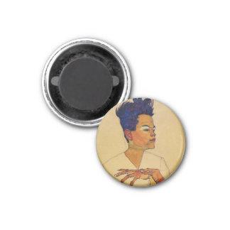 Egon Schiele Self Portrait Magnet
