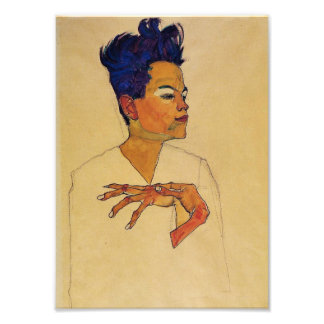 Egon Schiele Self Portrait Print Photo Print