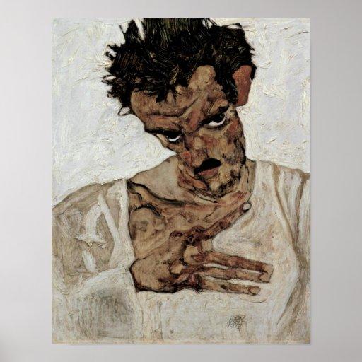 Egon+Schiele,self-portrait+with+fruit+Lantern,Egon Poster ...