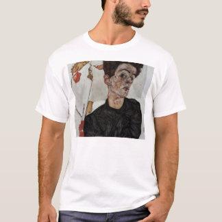 Egon Schiele- Self-Portrait with lantern fruits T-Shirt