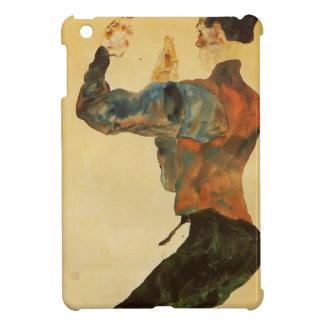 Egon Schiele- Self Portrait with Raised Arms iPad Mini Cover