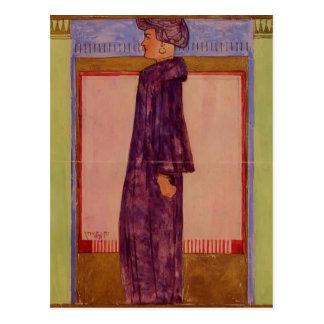Egon Schiele- Standing Woman Postcard