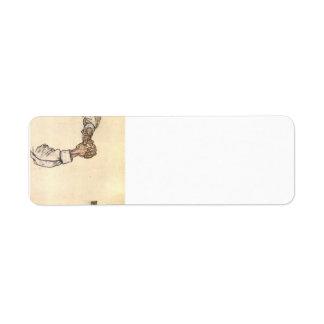 Egon Schiele- Study of hands Labels
