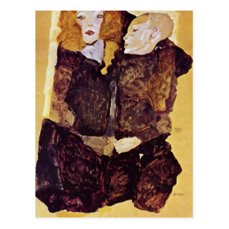 Egon Schiele- The Brother Postcard