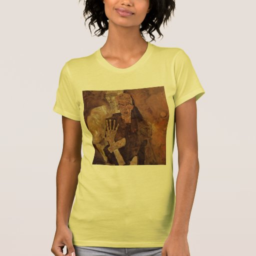 Egon Schiele- The Self Seers (Death and Man) T-shirts