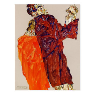 Egon Schiele- The Truth was Revealed Postcard