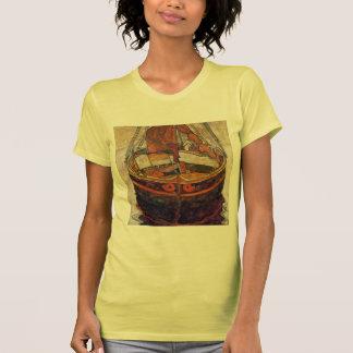 Egon Schiele- Trieste Fishing Boat Shirt