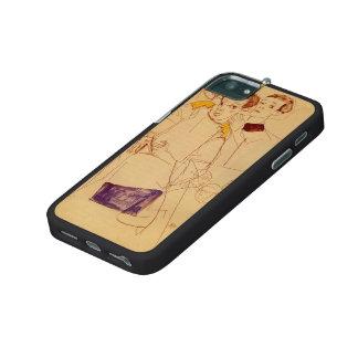 Egon Schiele- Triple Self Portrait iPhone 5/5S Cases