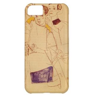Egon Schiele- Triple Self Portrait iPhone 5C Cover