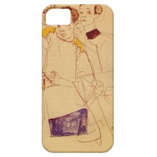 Egon Schiele- Triple Self Portrait iPhone 5 Cover