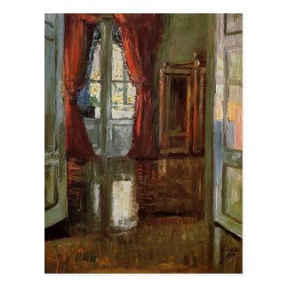 Egon Schiele- View into the Apartment of Leopold Postcard