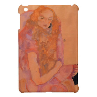 Egon Schiele- Woman with Long Hair iPad Mini Cases
