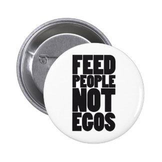Egos de la gente de la alimentación no pin