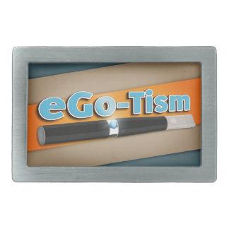 egotismo hebilla cinturón rectangular