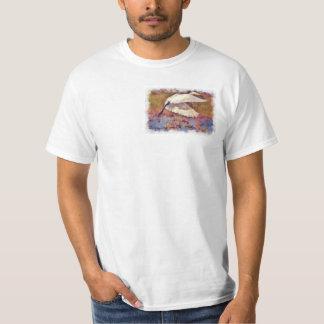 Egret 4 Watercolor Shirt