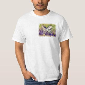 Egret 5 Watercolor Shirt
