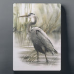 """Egret 5x7 Canvas Print Plaque<br><div class=""""desc"""">The Egret Bird in it&#39;s natural surroundings &quot;The Egret&quot;</div>"""