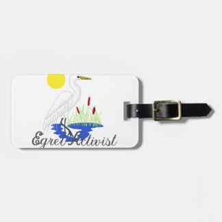 Egret Activist Bag Tag