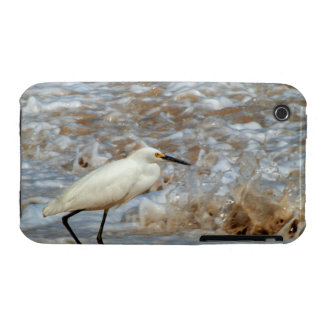 Egret and Wave Splash iPhone 3 Covers
