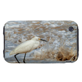 Egret and Wave Splash iPhone 3 Tough Cases