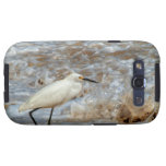 Egret and Wave Splash Samsung Galaxy S3 Cover